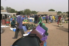 Country market Senegal 5 Stock Footage