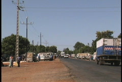 Senegal traffic Stock Footage