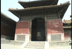 Confucius temple Stock Footage