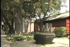 Confucius temple 3 Stock Footage