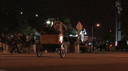 Stock Video Footage of Rickshaw Bike