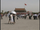 Stock Video Footage of Tiananmen Square 2