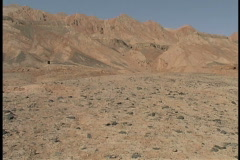 Turpan Depression desert Stock Footage