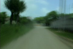 Guatemalan road fast 4 Stock Footage