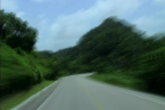 Guatemalan road fast Stock Footage