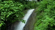Stock Video Footage of Jungle waterfall 2