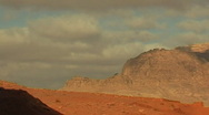 Stock Video Footage of Wadi Rum desert view