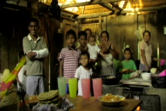 Mayan family Stock Footage