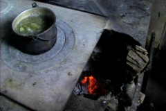 Mayan stove - stock footage