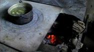 Mayan stove Stock Footage