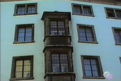 East Germany 1990  Weimar Elephant Hotel Stock Footage