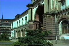 Weimar Gestapo headquarters 1990 Stock Footage