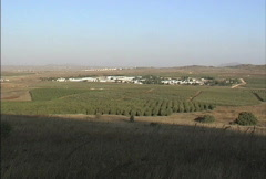 Golan Heights Stock Footage