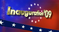 Inauguration 2009 Stock Footage