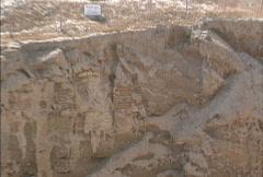 Excavations Jericho Stock Footage