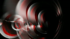 Abstract background with 3d rendered cloth elements Stock Footage