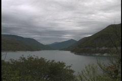 Stock Video Footage of Caucasus lake