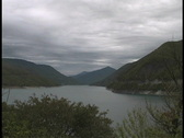 Stock Video Footage of Caucasus lake