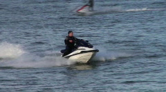 Jet Skiing Stock Footage