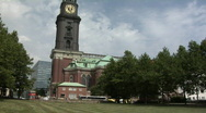 Stock Video Footage of St. Michaelis, Hamburg