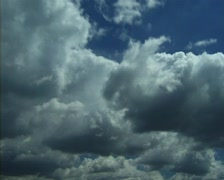 Clouds (Time Lapse) Stock Footage
