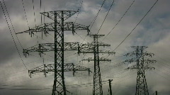 Stock Video Footage of Electricity.