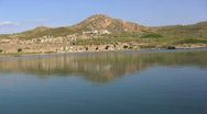 Stock Video Footage of  Delos from water