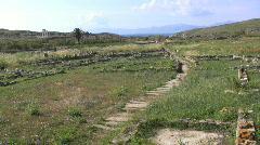 Delos landscape  Stock Footage