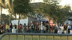 Joe Biden Rally 2 Stock Footage