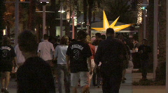 Tampa Bay Rays Fans 02 Stock Footage