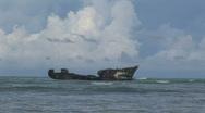 Pelican diving at Aruba Stock Footage