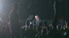 Joe Biden Rally 3 Stock Footage