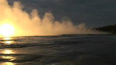 iceland geyser - stock footage