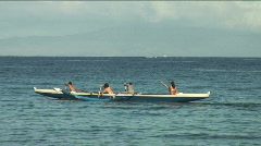paddle - stock footage