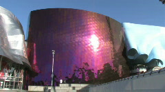 Experience Music Project Seattle - stock footage