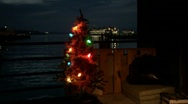 Homeless Christmas 2  Stock Footage