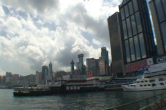 HONG KONG-FERRY 1 Stock Footage