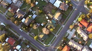 Residential aerial 4 Stock Footage