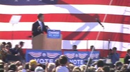 Obama On The Campaign Stock Footage