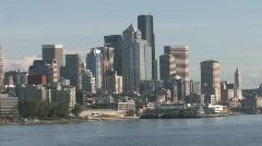 Seattle Washington Skyline - stock footage