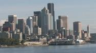 Seattle Washington Skyline Stock Footage