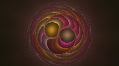 Swirling circles Stock Footage