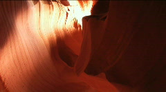 Antelope Canyon 2 Stock Footage