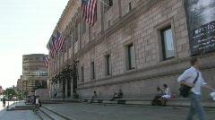 Boston Public Library Stock Footage