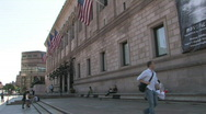 Stock Video Footage of Boston Public Library