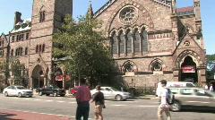 Boston Church Stock Footage