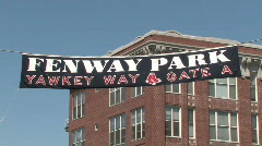 Boston Red Sox Fenway Park Stock Footage