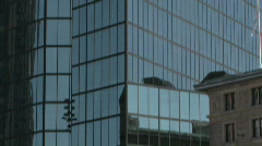 John Hancock building in Boston Stock Footage
