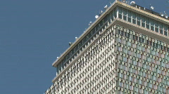 Prudential Center Building in Boston Stock Footage