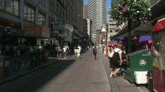 Boston Street Stock Footage